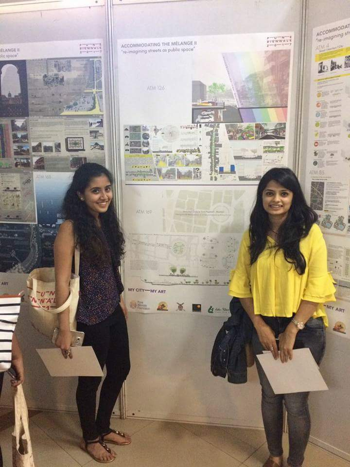 Pune biennale winners-rashi and shikha
